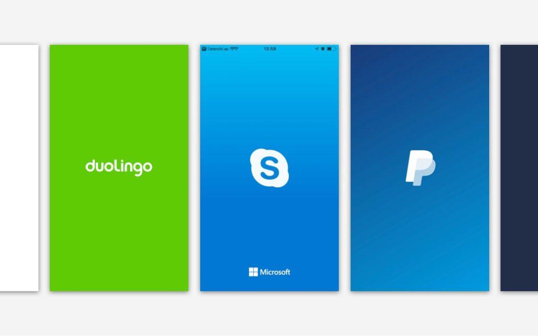 Faites fureur avec votre page Splash mobile
